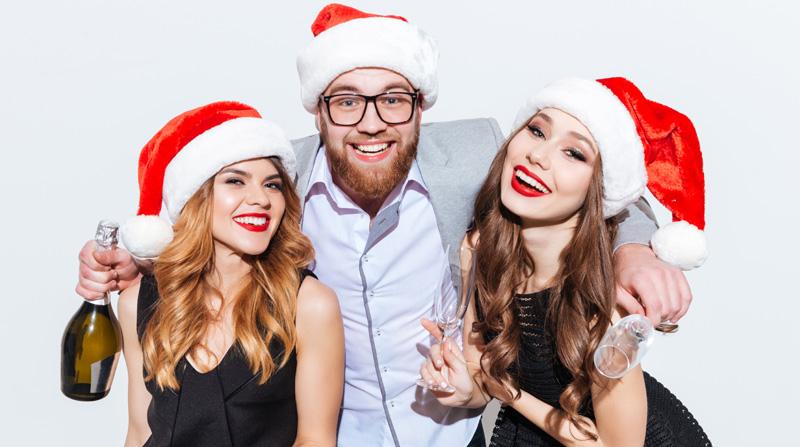 Weihnachtsfeier Unterhaltung.Selfiestarbox